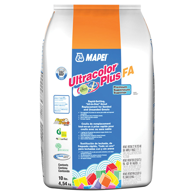 """Ultracolor Plus"" Floor Grout 4.54kg - Black"