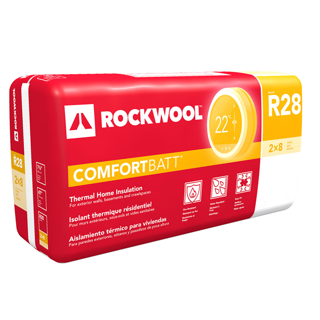 R28 comfortbatt insulation rona for What is roxul insulation