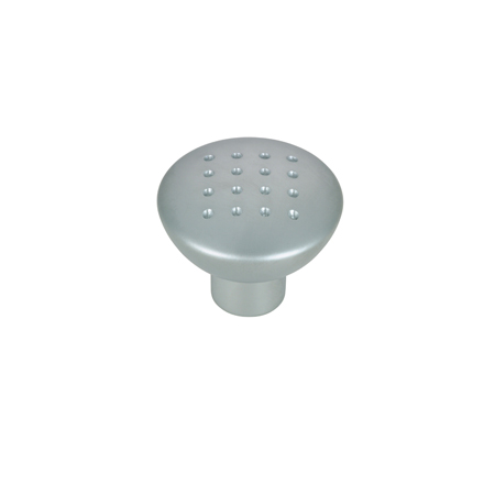 Metal Knob Satin Chrome