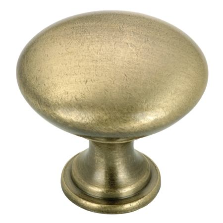 """Contemporary"" Metal Knob"