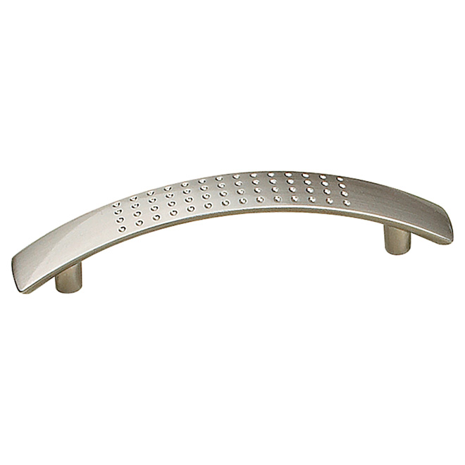Contemporary Pull 96mm - Metal - Brushed Nickel