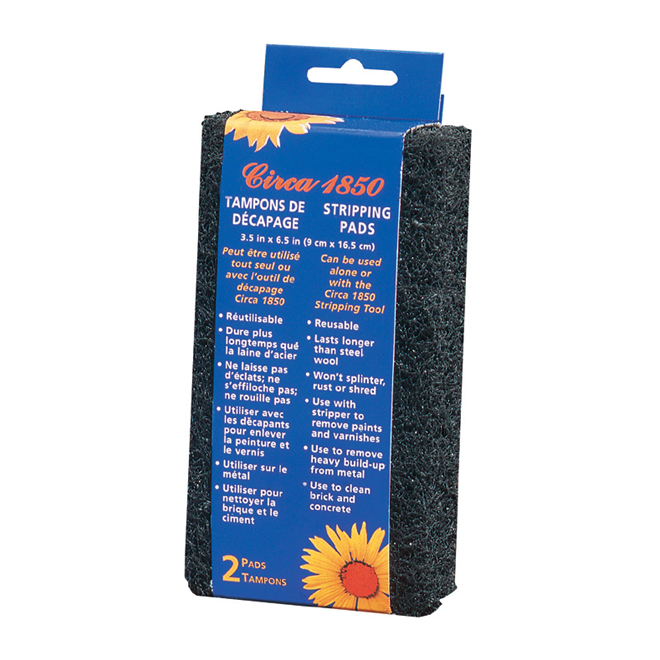 2-Pack Medium-Coarse Grade Finishing Pads