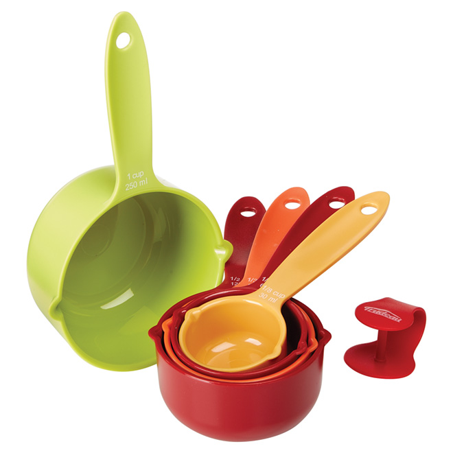 Measuring Cup Set - 5 pieces - Assorted Colors