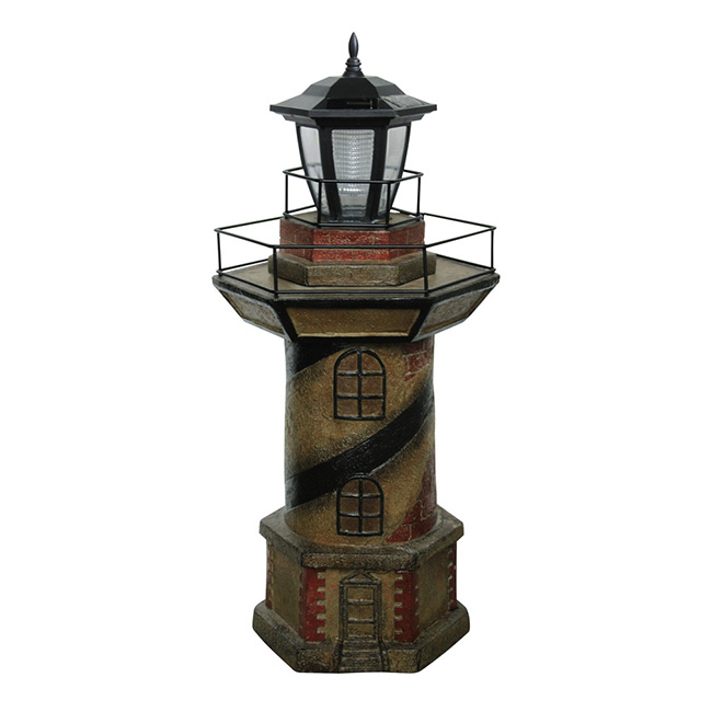 Quot Lighthouse Quot Statue With Solar Light Rona
