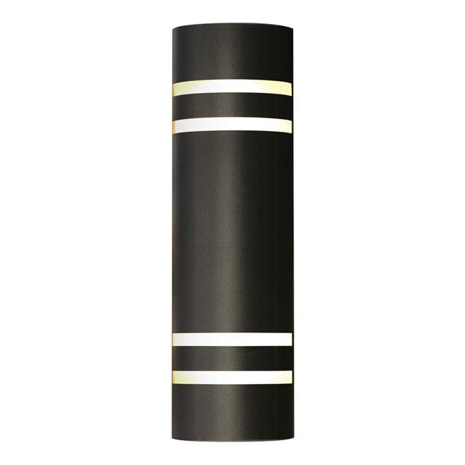 Bathroom Wall Sconces Black : Outdoor Wall Sconce - Black RONA