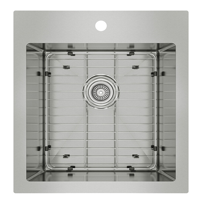 Rona Kitchen Sinks : Stainless Steel Single Kitchen Sink RONA