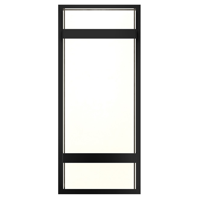 Wall Sconces Rona : LED Outdoor Wall Sconce - Black RONA