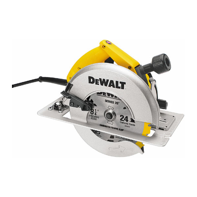 "Circular Saw with Rear Pivot Adjustment - 8 1/4"" - 15 A"