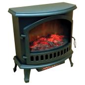 Electric Fireplace - Steel/ABS - 1,500 W - 120 V - Black
