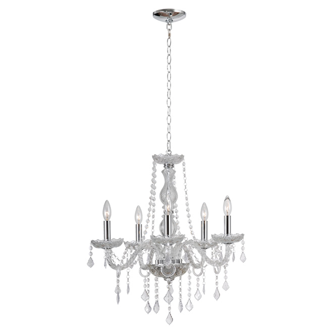 """Shine"" 5-Light Chandelier"