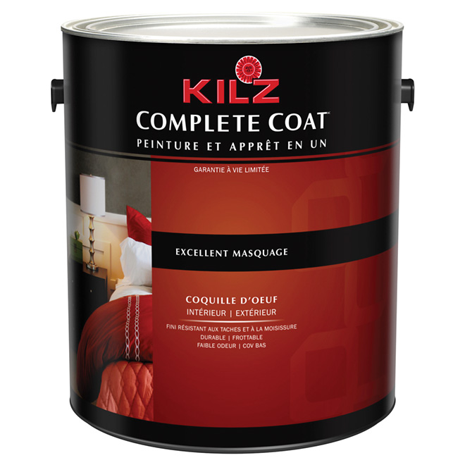 Peinture Int/Ext « Complete Coat », Coquille D'Oeuf | Rona