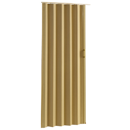Porte Accordon En Pvc  Paroi Simple Chne  Rona