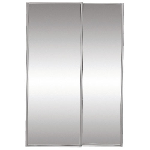"""Classic"" Mirrored Sliding Door - 60"" x 80 1/2"""