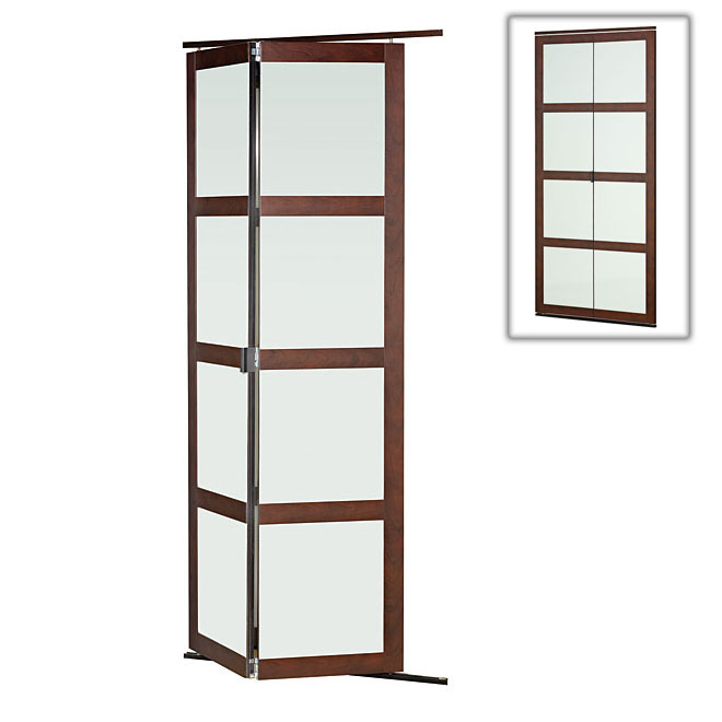 Porte pliante fusion plus rona - Porte accordeon sur mesure ...
