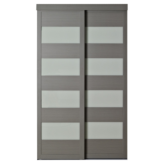 4 lite sliding door 48 x 80 1 2 rona for Porte coulissante interieure