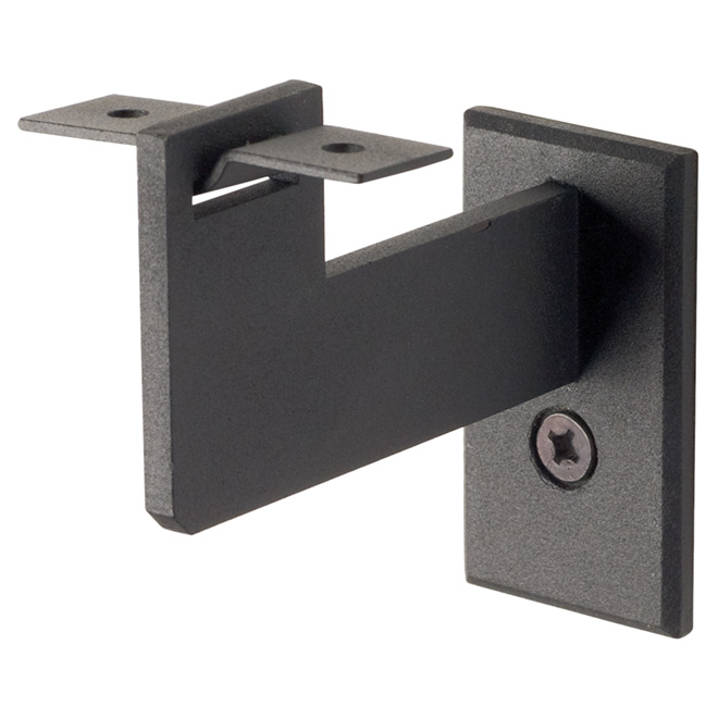 Steel Handrail Bracket Black Rona