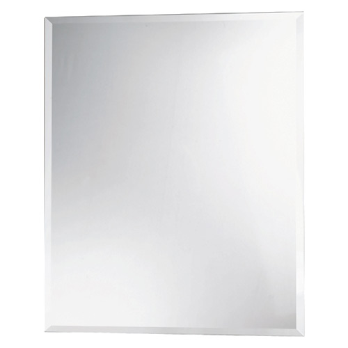 Miroir biseaut rectangulaire rona for Grand miroir long