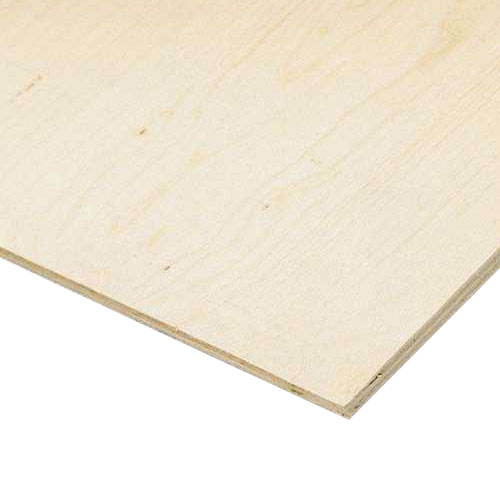 "Spruce Plywood Panel - Grade D - 5/8"" x 4' x 8'"