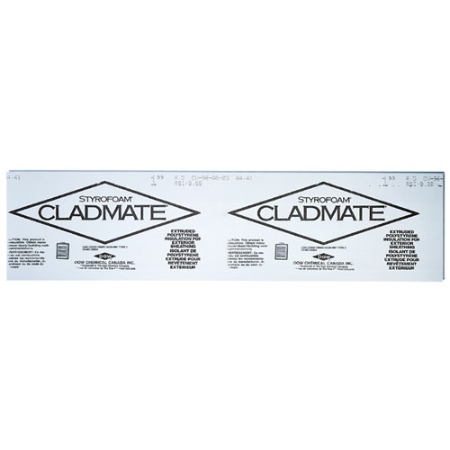 """Cladmate"" Rigid Insulation Panel"