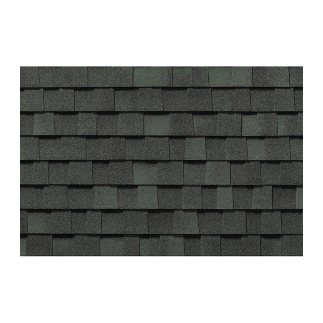 """Everest 42"" Roofing Shingle - Boreal Green"