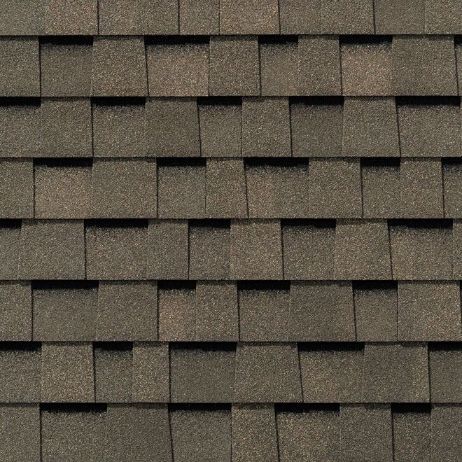 """Everest 42"" Roofing Shingle - Fossil Wood"