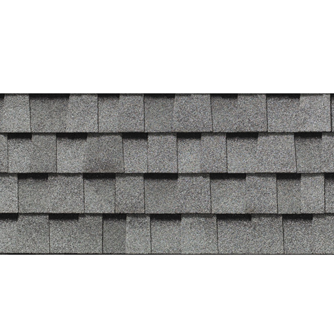 """Mystique 42"" Roofing Shingle - Silver Grey"