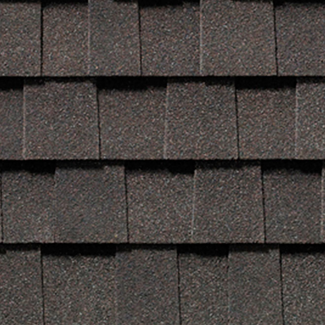 """Mystique 42"" Roofing Shingle - Brown Stone"