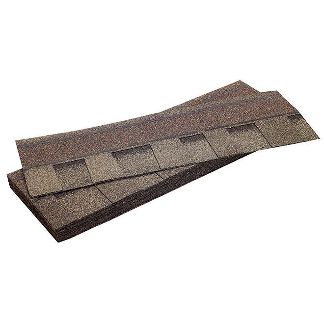 """Mystique 42"" Roofing Shingle - Weathered Rock"