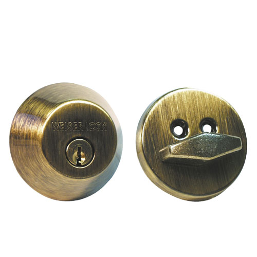 """Welcome"" Single Cylinder Deadbolt"