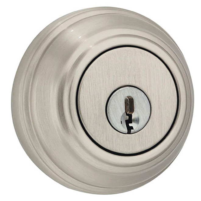 """Collection Series"" Deadbolt - Satin Nickel"
