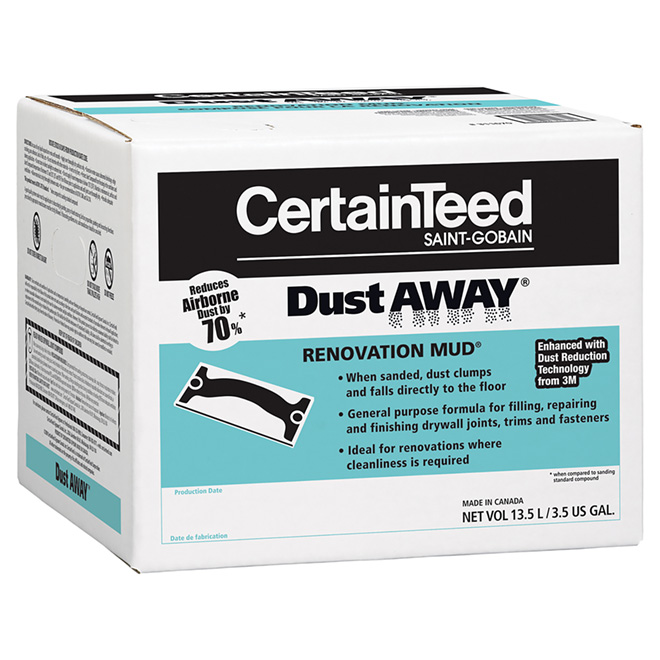 """Dust Away"" Joint Compound"