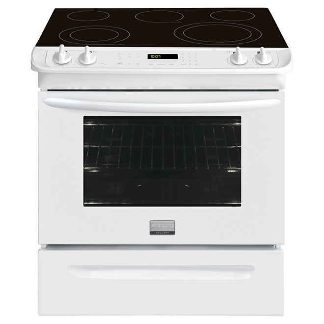 Slide-In Electric Convection Range - 4.6 cu. ft.