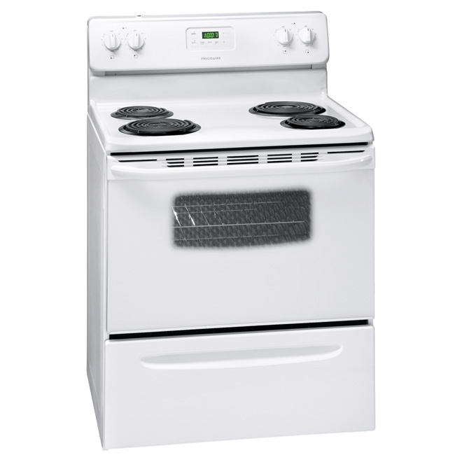 Freestanding Electric Range - 4.8 cu. ft. - White