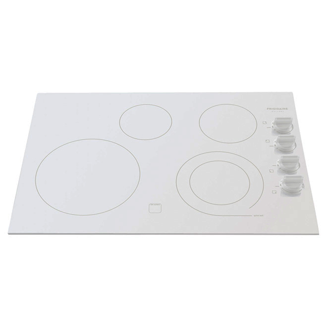 "30"" Electric Built-in Cooktop - White"