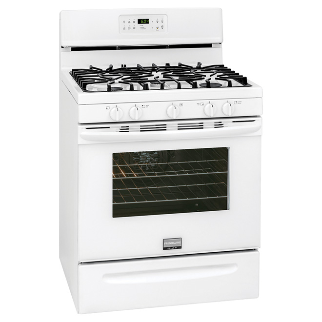 Freestanding Gas Range - 5 cu. ft. - White