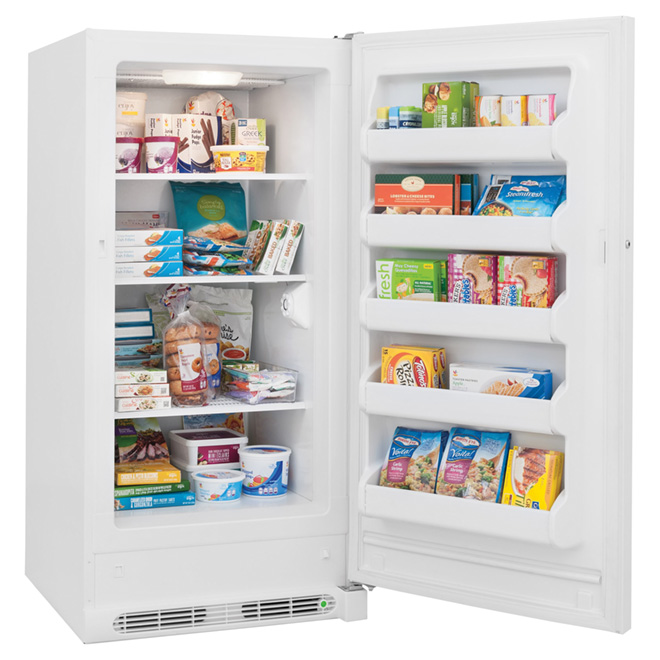 Frost Free Upright Freezer - 14.4 cu.ft. - White