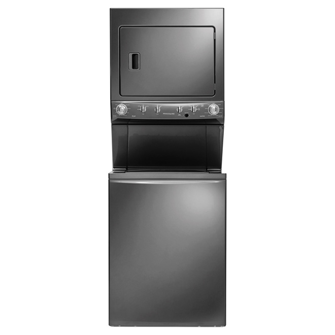 Stacked Washer Dryer Set - 4.4/5.5 cu.ft. - Slate