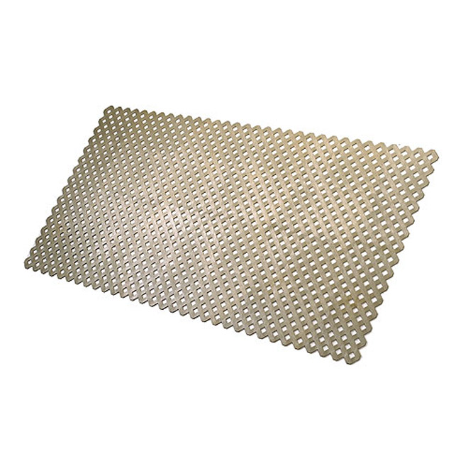 """Privacy"" PVC Lattice - Kaki"