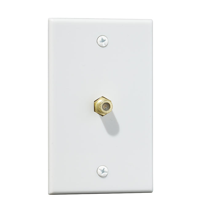 Coaxial Wall Plate