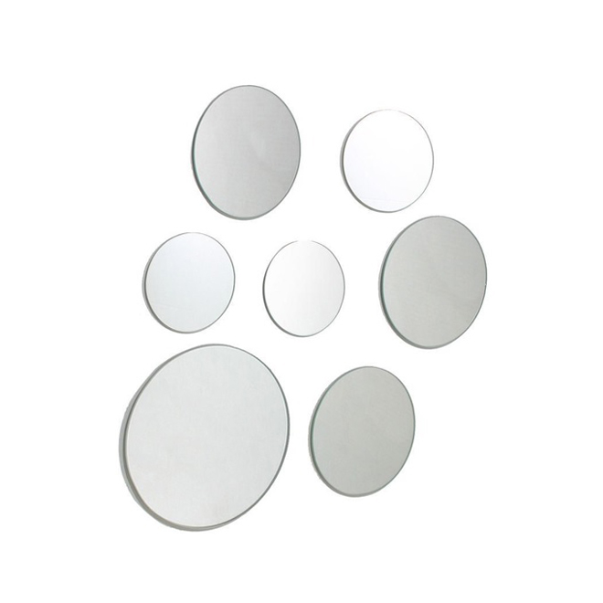 Set of 7 Round Mirrors - Various Size