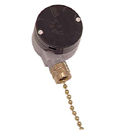 Speed ceiling fan switch with pull chain rona