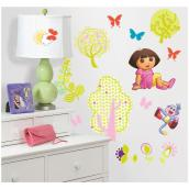 Peel and Stick Wall Decals - Dora the Explorer