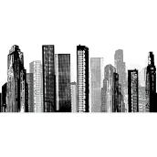 Peel and Stick Giant Wall Decals - Cityscape