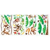 Peel and Stick Wall Decals - Monkeys