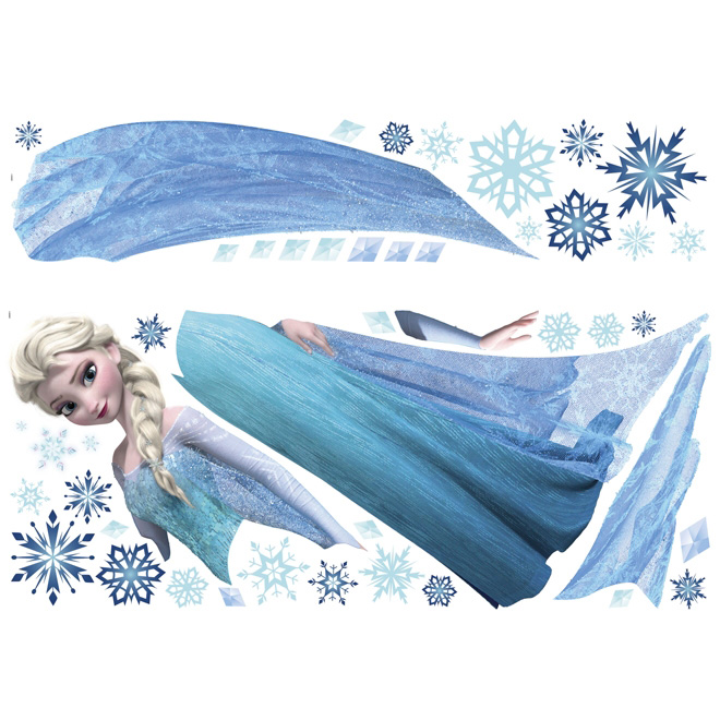 Peel and Stick Wall Decals - Frozen Elsa