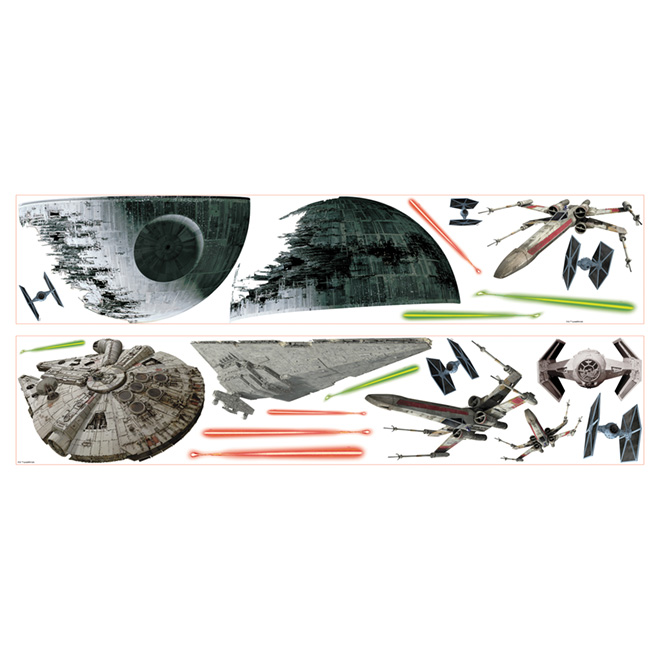 Wall Decal - Star Wars - 20 Pieces