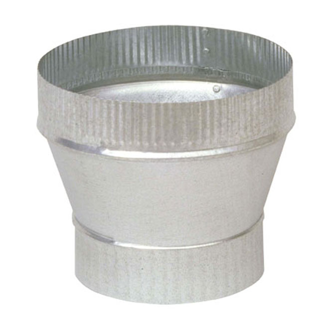 "7"" to 8"" Diameter Galvanized Steel Increaser"