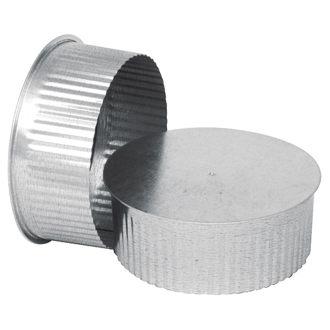 Galvanized Steel End Cap