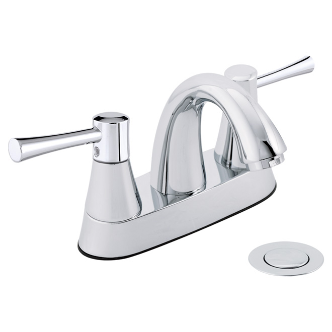 Two-Handle Lavatory Faucet - Neo - Polished Chrome
