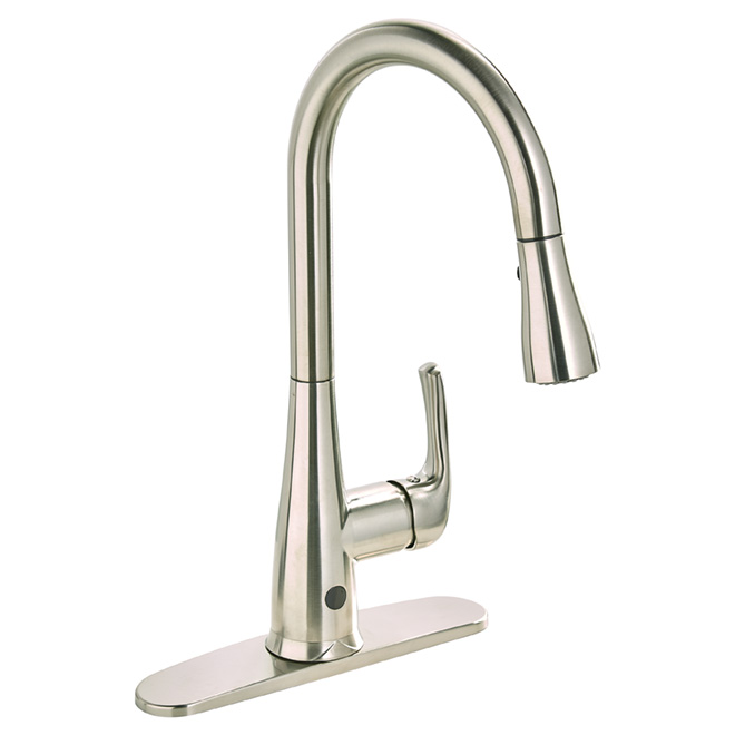 "Pull-Down Kitchen Faucet - ""Nexo"" - Brushed Nickel"